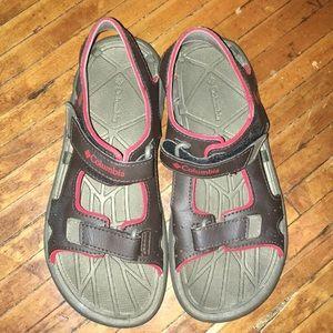 Columbia kids Omni grip Velcro sandals